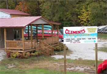 Clements Canoes Outdoor Center