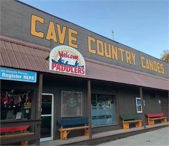 Cave County Canoes - Blue River