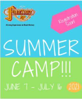 Freetown Village Living Museum - Summer Camp